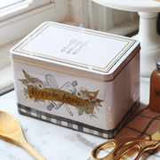 Keepsake Recipe Tin - Farmhouse Gingham