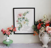 The Hand That Gives Roses - Print