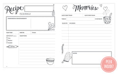 Kitchen diary and recipe keeper