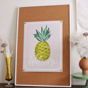 Summer Welcome Pineapple - Print