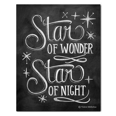 Star of Wonder, Star of Night - Print