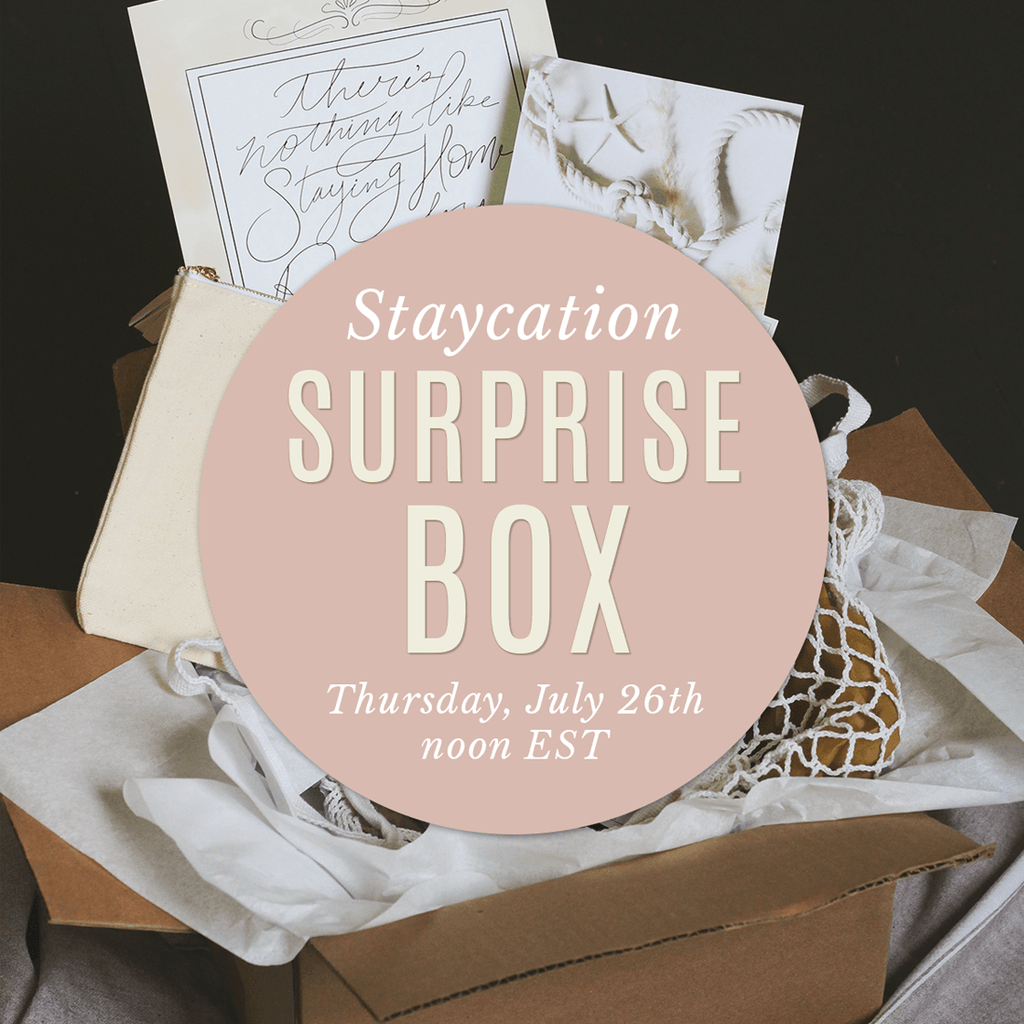 Staycation Surprise Box - SHIPPING INCLUDED