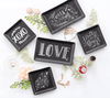 Love - Stoneware Trinket Tray