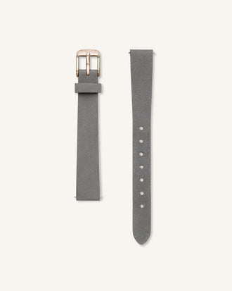Grey Rose gold Strap