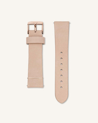 Soft Pink Rose gold Strap