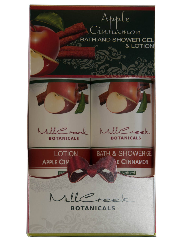Spiced Apple Shower Gel & Lotion - Mill Creek Botanicals