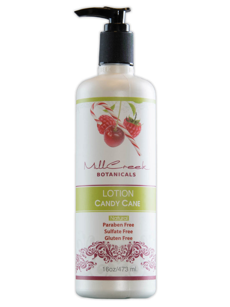 Candy Cane Lotion - Mill Creek Botanicals