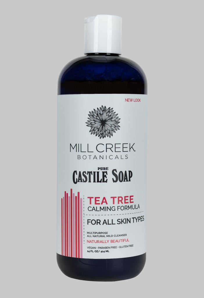 Castile Soap Tea Tree (NEW LOOK) - Mill Creek Botanicals
