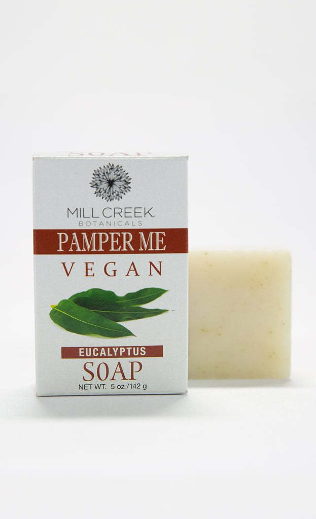 Pamper Me Vegan Eucalyptus Soap - Mill Creek Botanicals