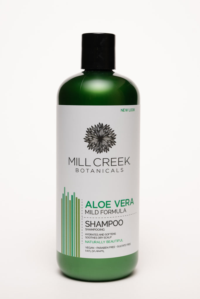 Aloe Vera Shampoo 14 oz - Mill Creek Botanicals