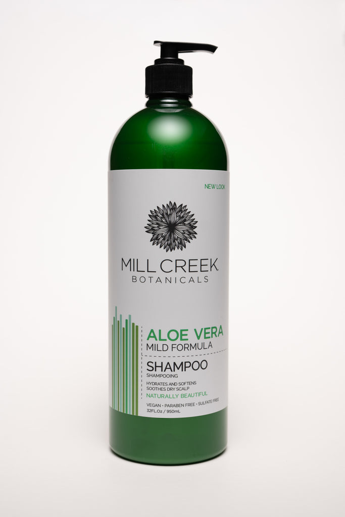 Value Size Aloe Vera Shampoo 32 oz - Mill Creek Botanicals