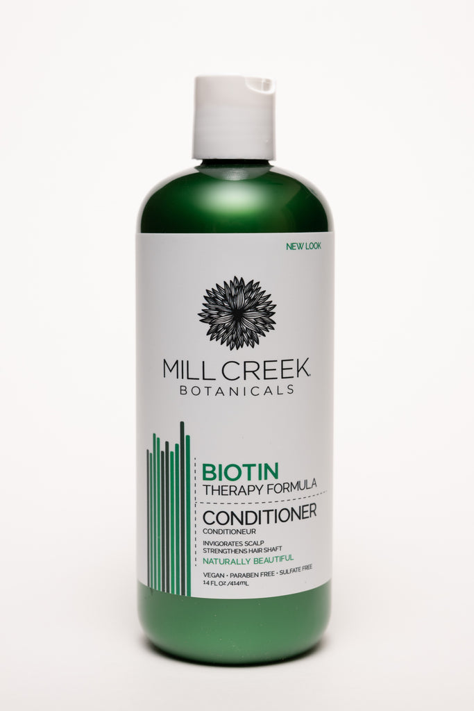 Biotin Conditioner 14 oz - Mill Creek Botanicals