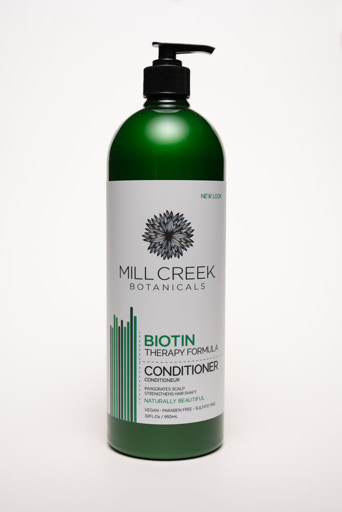 Value Size Biotin Conditioner 32 oz - Mill Creek Botanicals