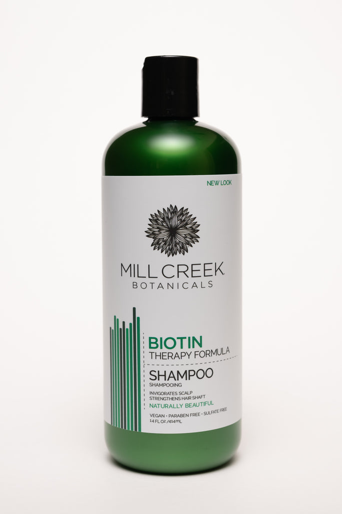 Biotin Shampoo 14 oz - Mill Creek Botanicals
