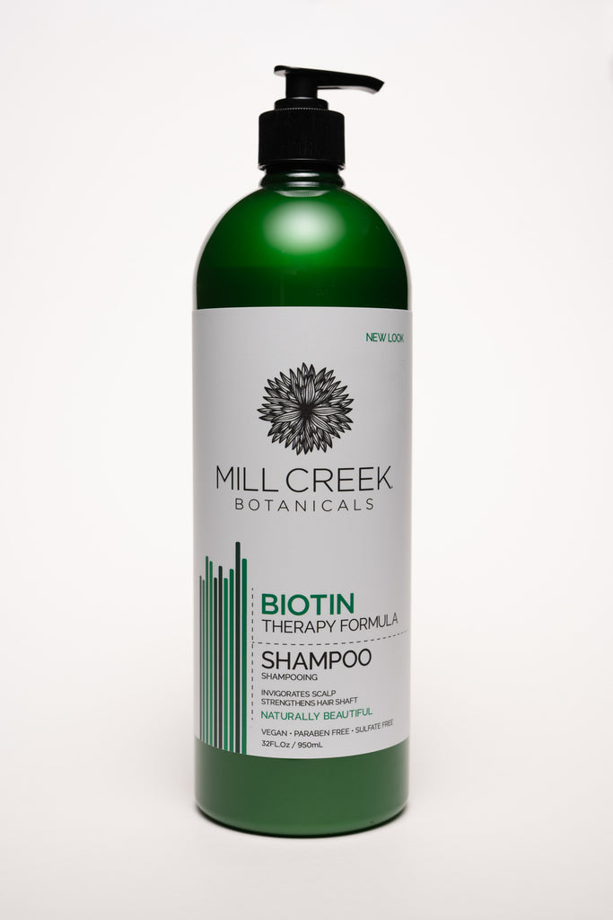 Value Size Biotin Shampoo 32 oz - Mill Creek Botanicals