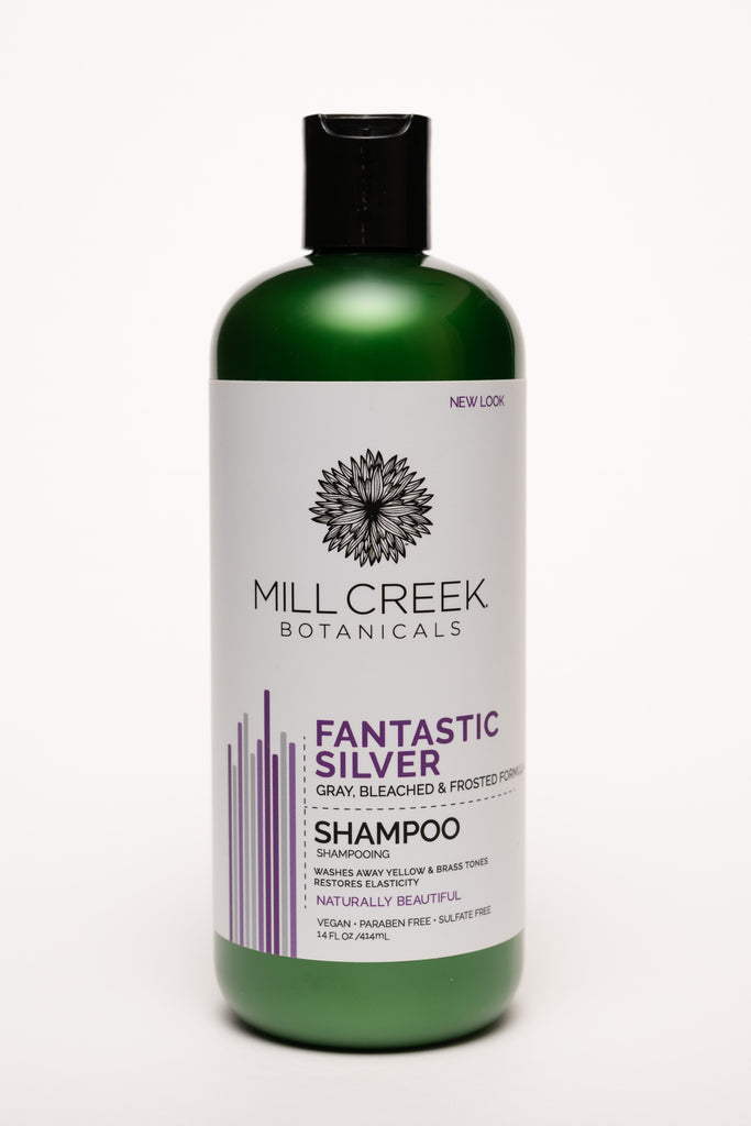 Fantastic Silver Shampoo 14 oz - Mill Creek Botanicals