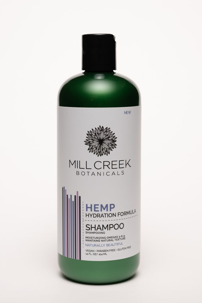 Hemp Shampoo 14 oz - Mill Creek Botanicals