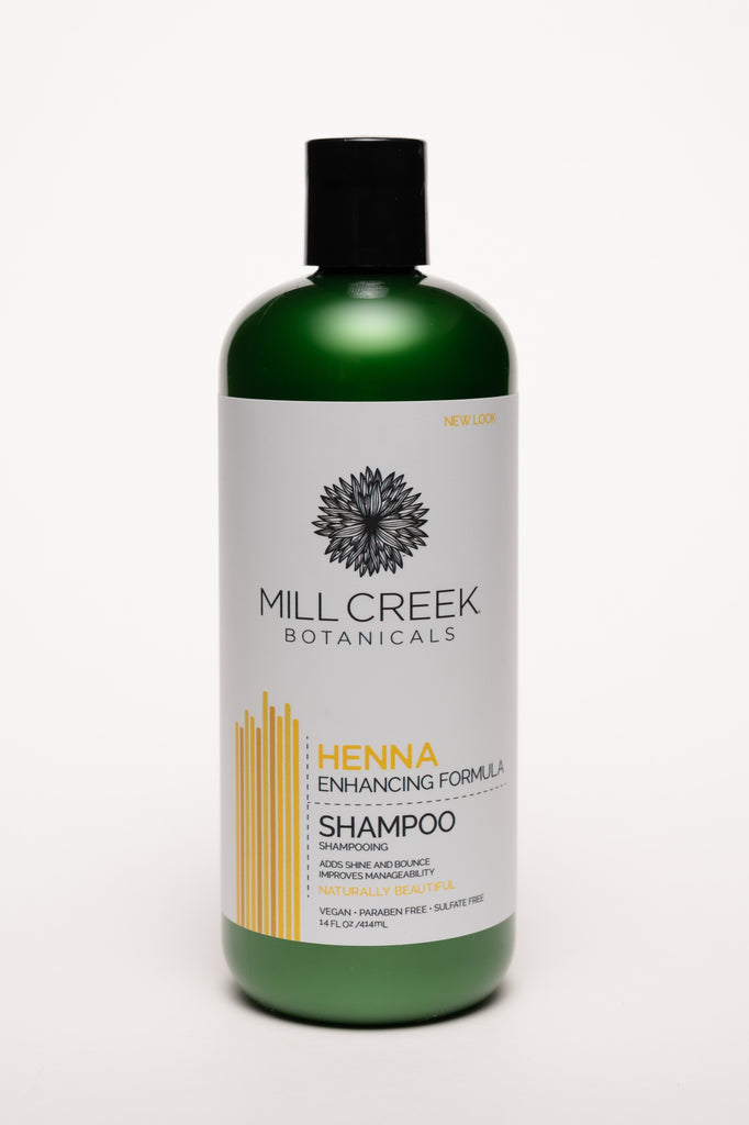 Henna Shampoo 14 oz - Mill Creek Botanicals