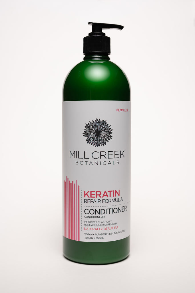 Value Size Keratin Conditioner 32 oz - Mill Creek Botanicals