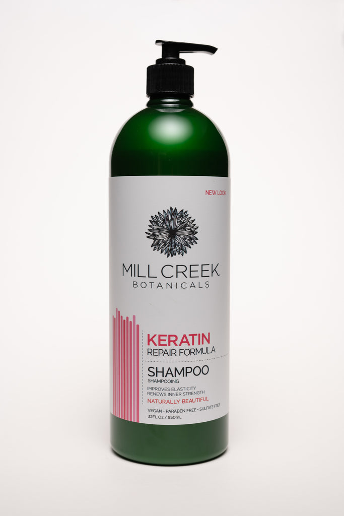 Value Size Keratin Shampoo 32 oz - Mill Creek Botanicals