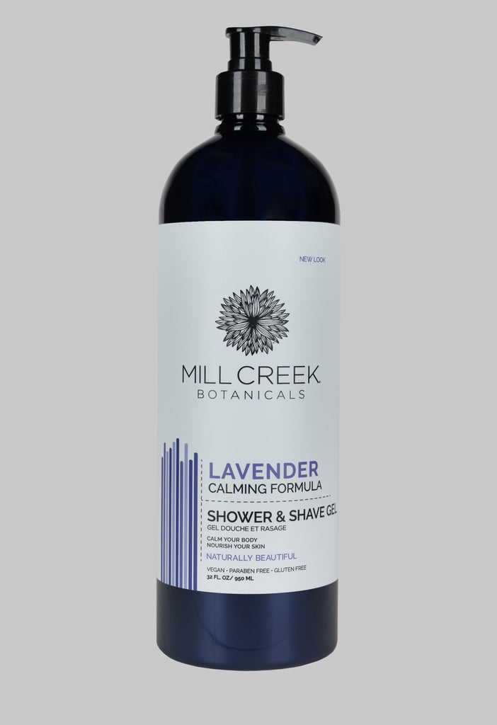 Value Size Lavender Shower & Shave Gel 32 oz