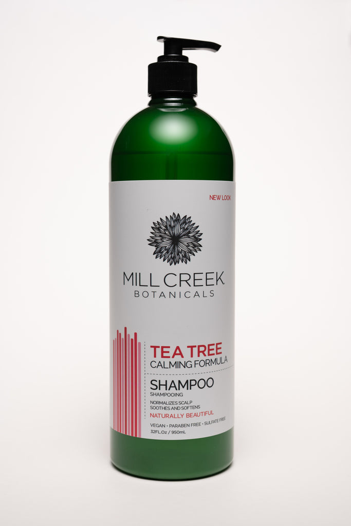 Value Size Tea Tree Shampoo 32 oz - Mill Creek Botanicals