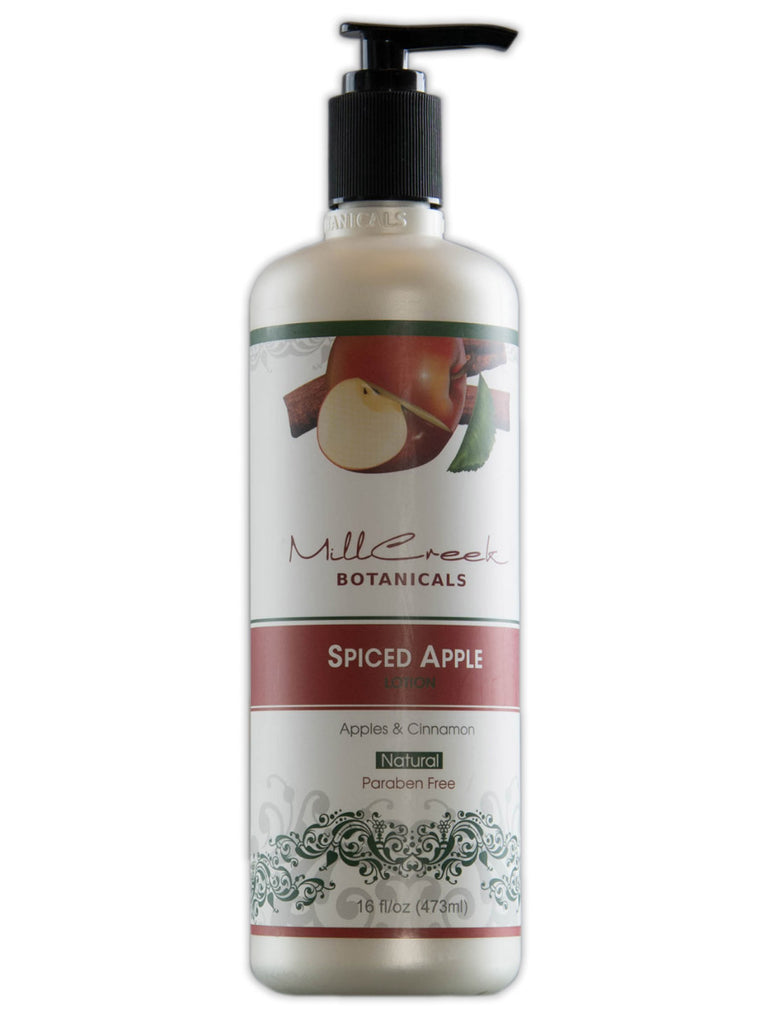 Spiced Apple Lotion - Mill Creek Botanicals