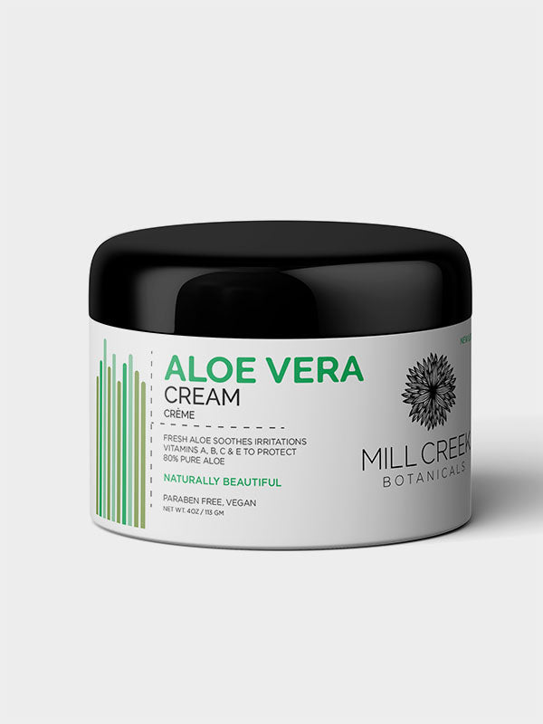 80% Aloe Vera Cream - Mill Creek Botanicals