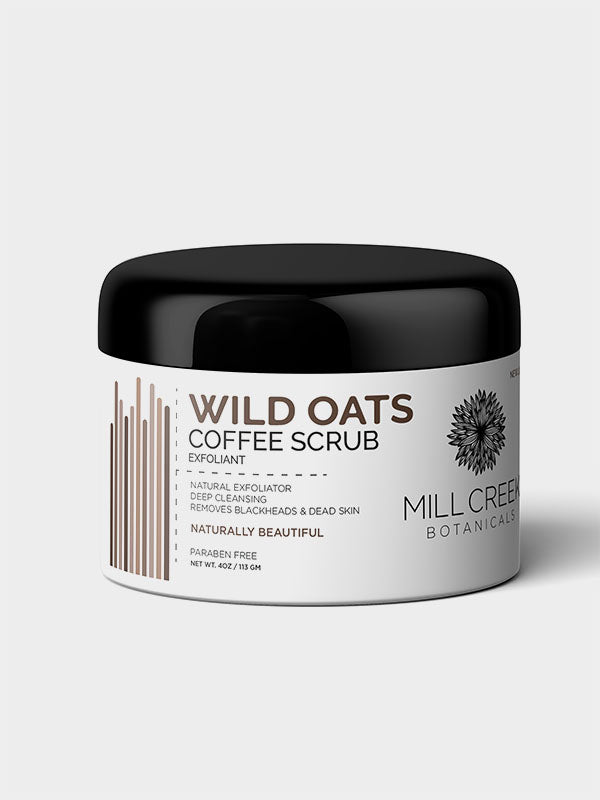 Wild Oats Coffee Scrub - Mill Creek Botanicals