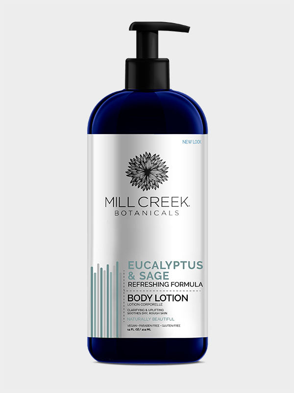 Eucalyptus & Sage Lotion 14 oz - Mill Creek Botanicals