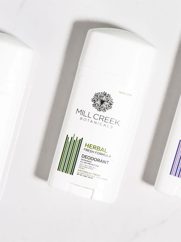 Herbal Stick Deodorant - Mill Creek Botanicals