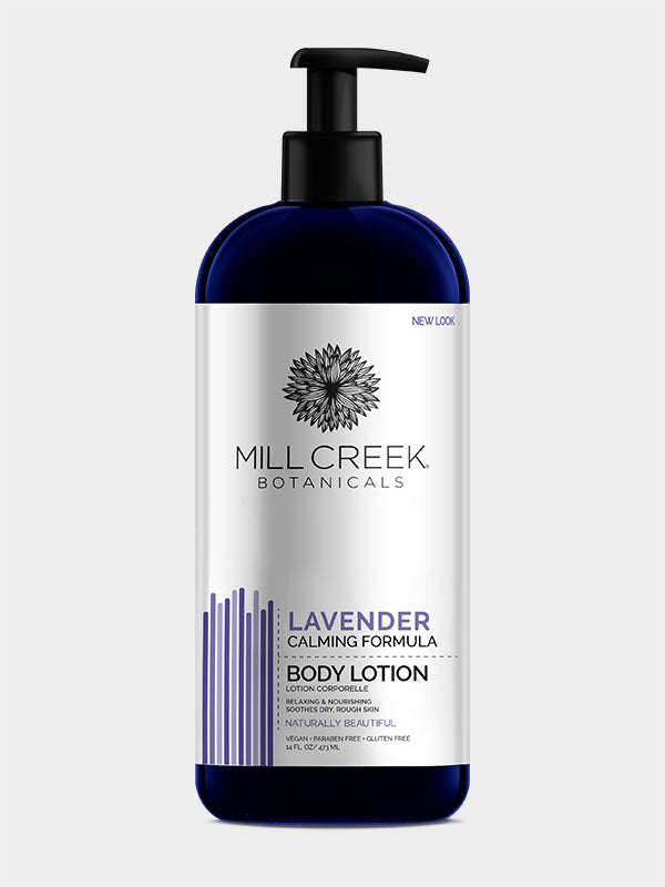 Lavender Lotion 14 oz - Mill Creek Botanicals