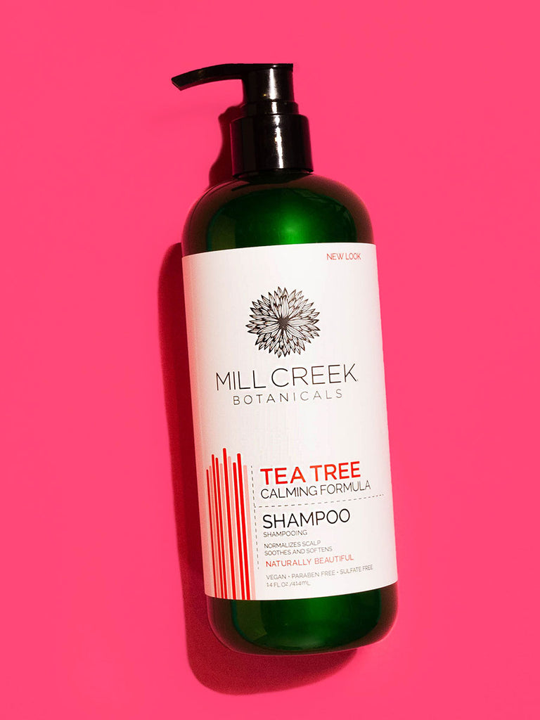 Tea Tree Shampoo 14 oz - Mill Creek Botanicals