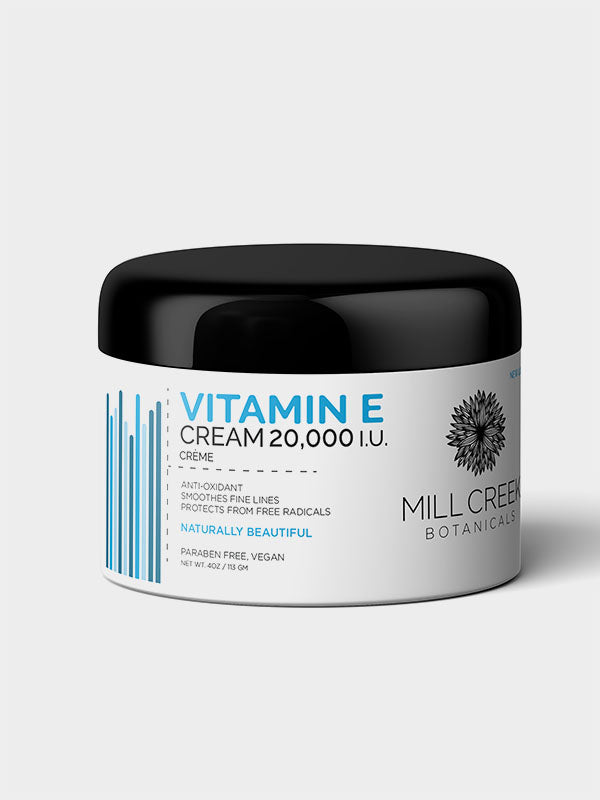 Vitamin E Cream 20,000 IU - Mill Creek Botanicals