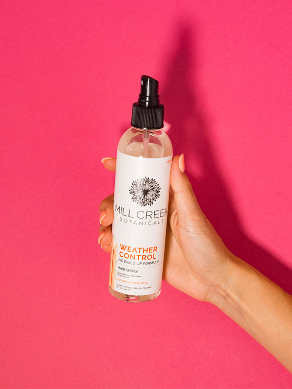 Weather Control Hair Spray - Mill Creek Botanicals