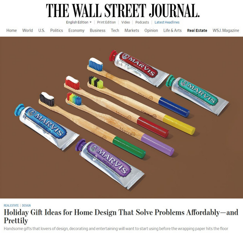 MamaP Featured In Wall Street Journal Holiday Gift Guide