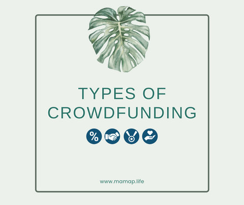 the different types of crowdfunding