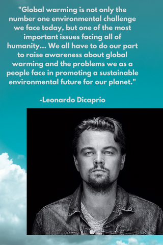 What Is Leo DiCaprio Doing For Climate Change?