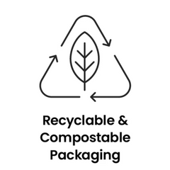 Recyclable and compostable packaging.