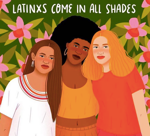 Colombiana @susdraws illustrated this piece for @ultabeauty in celebration of Latinx Heritage Month