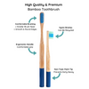 Melanin Bamboo Toothbrush 5-Pack For Reform *PRE-ORDER* - MamaP bamboo toothbrush