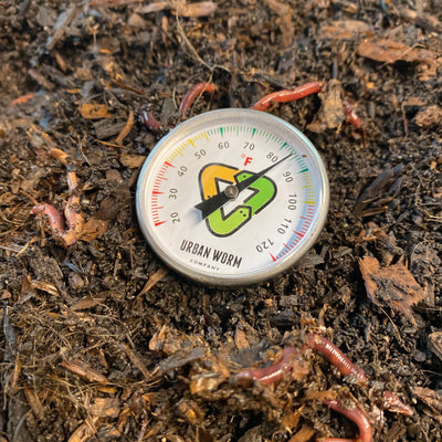 6-Pack Coco Coir & Thermometer Promo Soil Urban Worm Company