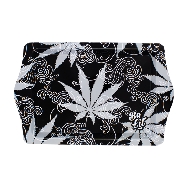 Be Lit Travel Rolling Tray, Leaves and SmokeBe Lit BrandBe Lit Brand