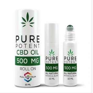 Pure Potent CBD Topical Roll-On
