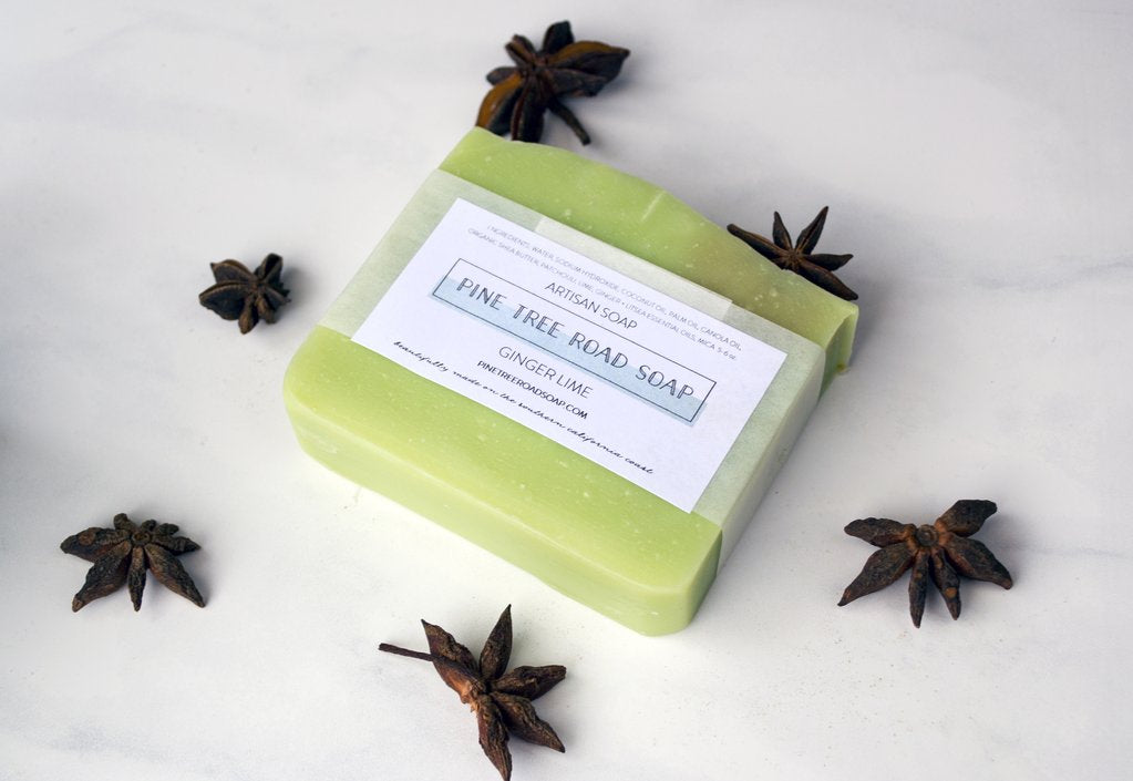 Pine Tree Road Ginger Lime Artisan Soap Bar
