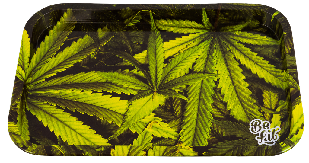 Be Lit Large Rolling Tray, LeafyBe Lit Brandbelitbrand