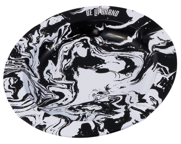 Be Lit Ashtray, Smokey MarbleBe Lit Brandbelitbrand