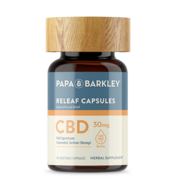 Papa & Barkley Hemp Infused CBD Capsules – 30mg