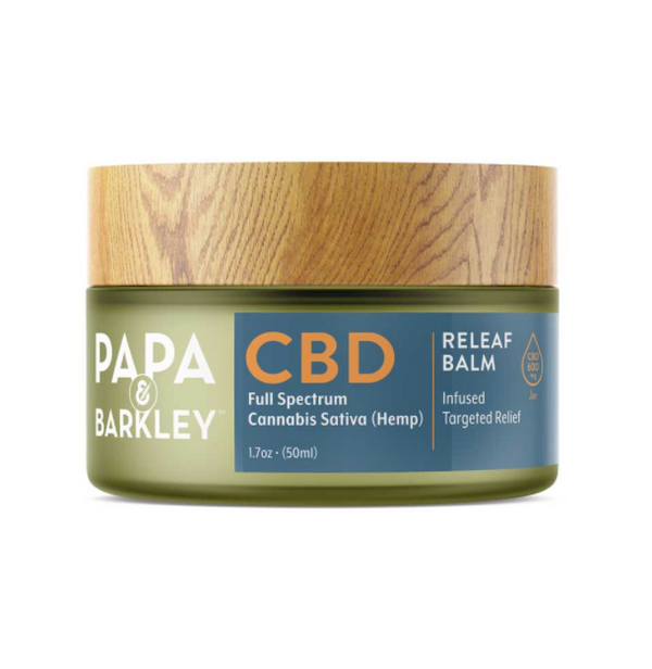 Papa & Barkley Hemp Infused CBD Balm - 50ml