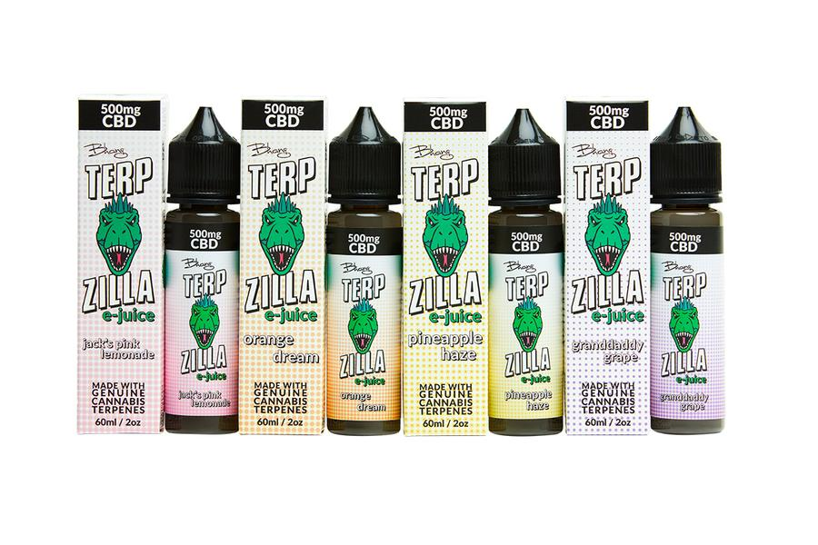 Bhang Terpzilla E-Juice with 500mg CBD